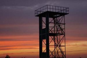 消防训lian塔