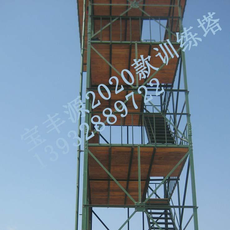 多功能钢mu结构训lian塔